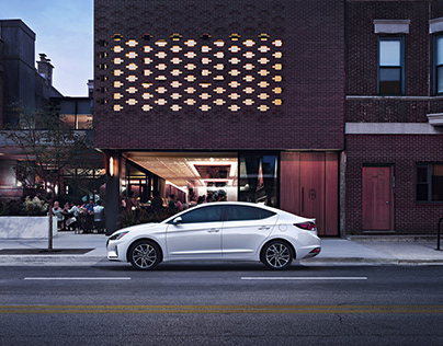 Postproduction for c quadrat - Hyundai Elantra
