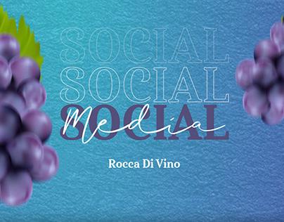 Projeto Social Media - Rocca Di Vino