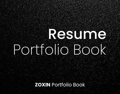 resume-portfolio book