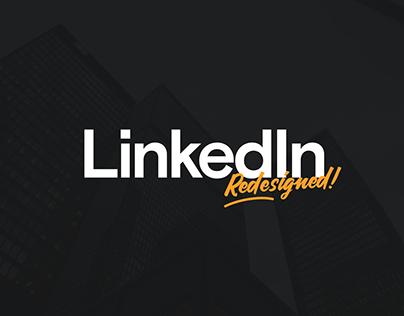 LinkedIn → Redesigned