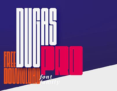 Dugas PRO — free font family