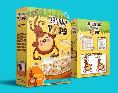 Banana Pop's - Ilustración & Packaging