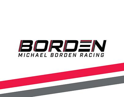 Michael Borden Racing Logo Design
