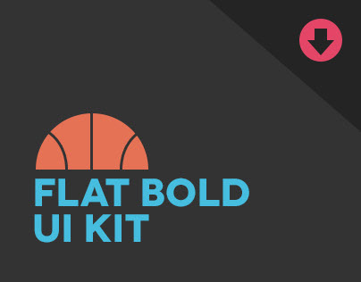 Flat Bold UI Kit - ** DEPRECATED *