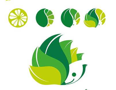 Illustration Du citron au hérisson.