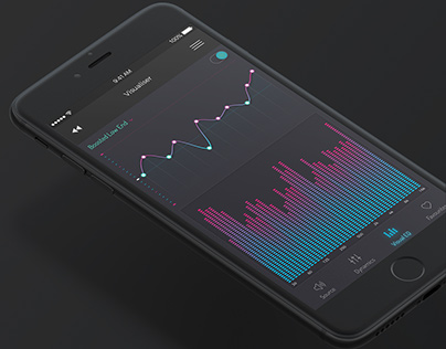 IoT Air Control App for Blueair on Behance