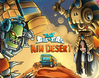 """Art of """"Tiny Busters"""" Game Project"""