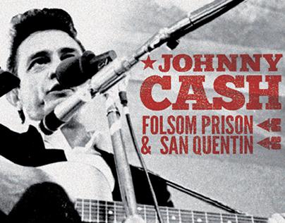 Johnny Cash at Folsom Prison & San Quentin - boxset