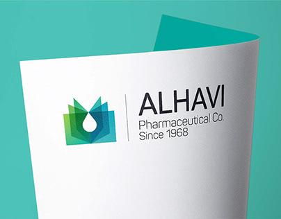 Alhavi Pharma Visual Identity - Logo Design