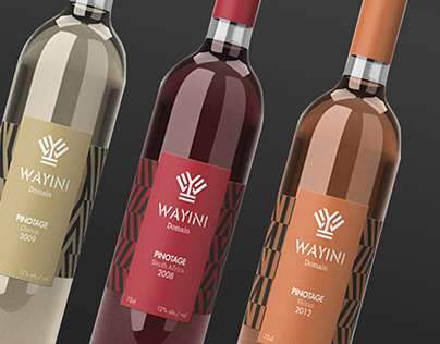 Wayini - South african wine (Identity)
