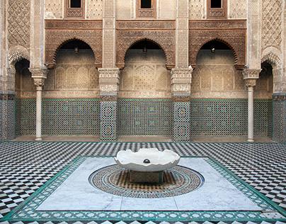 Al-Attarine Madrasa Fes, Morocco