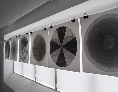 Analog photography exhibition - Circular