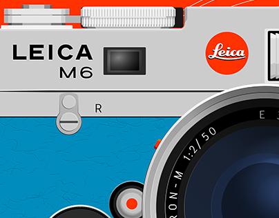 Über Detail: Leica M6 Historica 1995