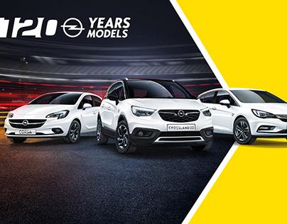 Opel 120 years