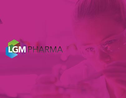 LGM Pharma - Pharmaceutical Website