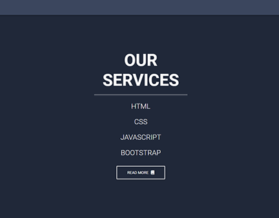 Responsive Portfolio website (HTML CSS Bootstrap)