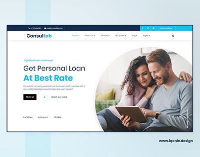 Consultab - Business & Finance Consulting WP Theme