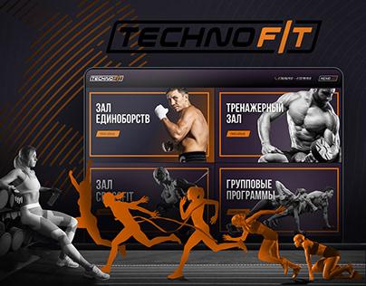 Web site / Design mobile APP TechnoFit