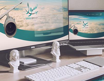 SAWA GROUP | Logo & Website