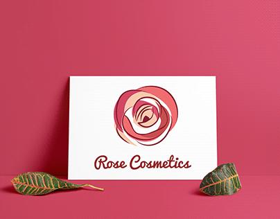 LOGO DESIGN ROSE COSMETICS