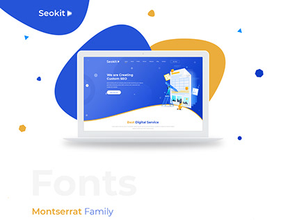 Seokit Webpage Design