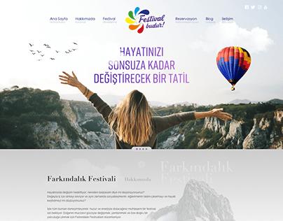 Festival Budur - UI Design Concept