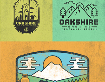 Oakshire Graphic Tee Concepts