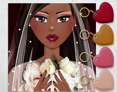 Pearly Bride Styled Avatar Design