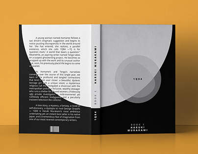 1Q84 book cover design