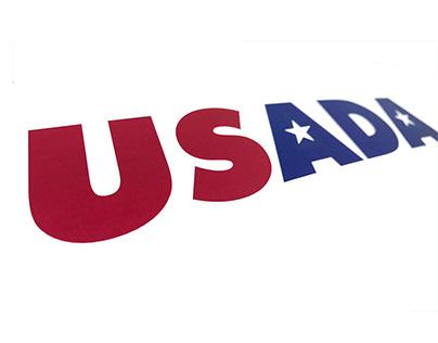 USADA - Logo design