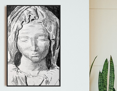 Greek Statue Series (a collection of drawings)