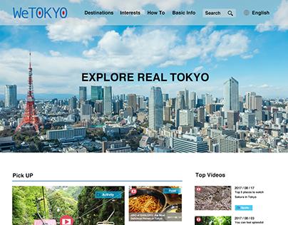 "Web Design ""We TOKYO"""
