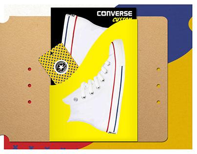 Converse Custom | Promotional Kit Design