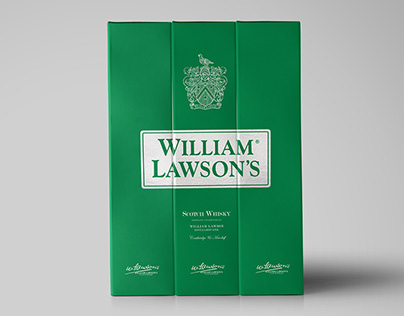 William Lawson's Packaging