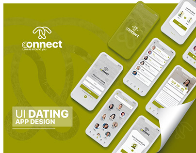 UI UX Dating App Designs