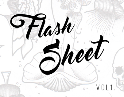 Tattoo Flash Sheet - Volume 1.