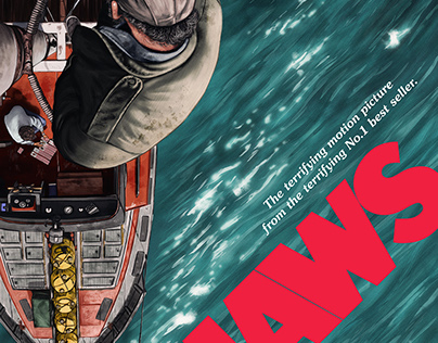Jaws (officially licensed poster)