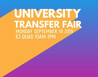 University Transfer Fair 2019