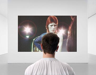 David Bowie Interactive Exhibit