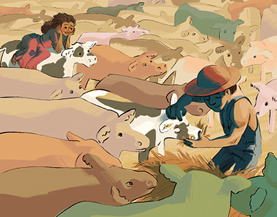 """The Princess Bride"" Illustrations"
