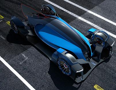 Michelin Challenge Design 2017. Bugatti Wimille