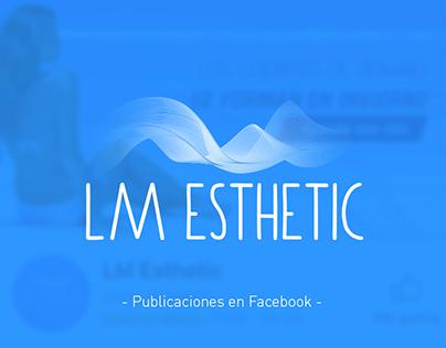 Publicaciones en Facebook - LM Esthetic