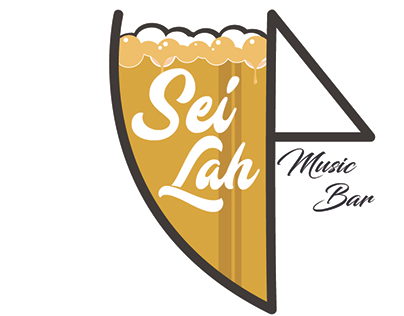 Sei Lah Music Bar Logo Design