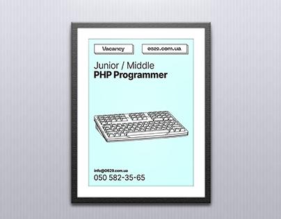Job Vacancy | Poster (ENG/RU)