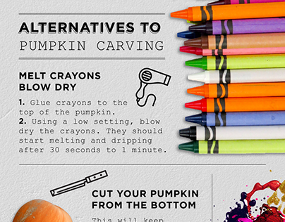 Alternatives to Pumpkin Carving Infographic