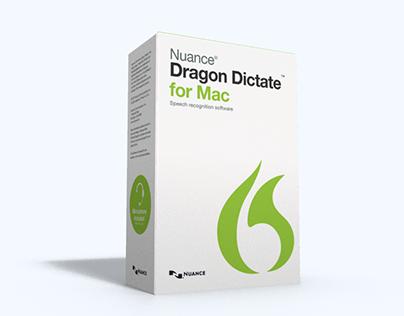 Dragon Dictate 4 Box Design
