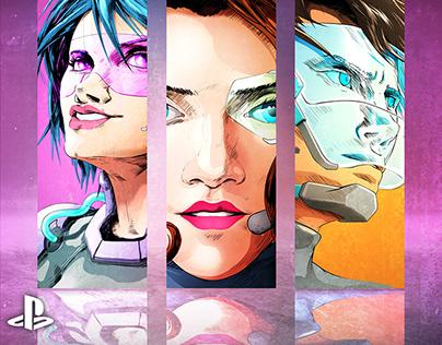PlayStation Avatar Design