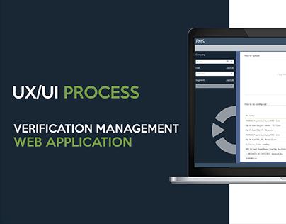 Verification Management - UX/UI Process