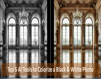 Top 5 AI Tools to Colorize a Black & White Photo