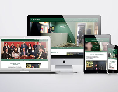 JLCasajuana Abogados - Website